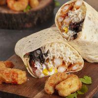 Burrito de Langostinos