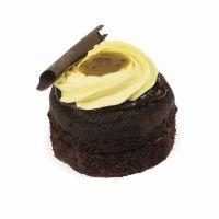Mini Tarta Vegana Chocolate y Maracuyá