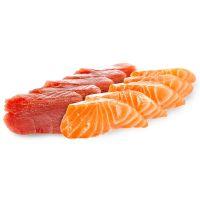 Sashimi Mixto Atún & Salmón (10 piezas)
