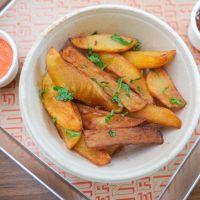 Patatas Fritas Vegetariano