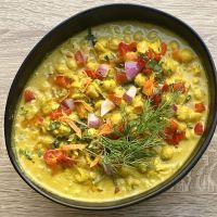 Curry de Garbanzos Cold 44