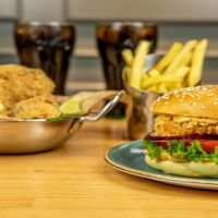 Menu Pollo + Burger 2 Pax