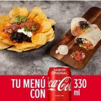 Combo Coca-Cola Individual Andale Burrito