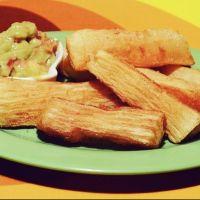 Yuca Frita con Guasacaca