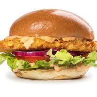 Single Burger Crispy Chicken