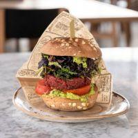 Red Veggie Burger  -   V 