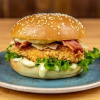 Parmesan & Bacon Chicken Burger