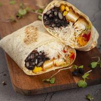 Burrito de Pollo en Panko