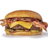 Single New York Bacon & Cheese Burger