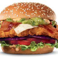 Single Guacamole Bacon Chicken