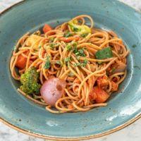 Espaguetti & Boloñesa Veggie  -   V 