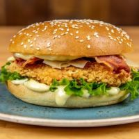 Cesar Bacon & Parmesan Chicken Burger
