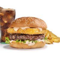 Menu Cheesy Yankee Burger