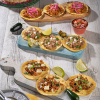 Degustación Tacos Mexicanos