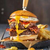 Menu Double Route 66 Burger
