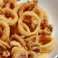 Calamares andaluza con mayonesa de wasabi