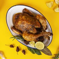 Pollo a la Brasa Estilo Mexicano