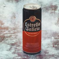 Birra Lata Estrella Galicia 33cl