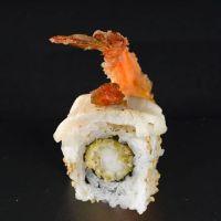 Smoke butterfish uramaki