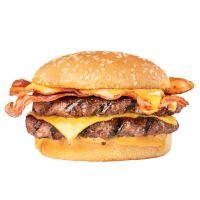 Double Bacon Angus 1/4 de Libra