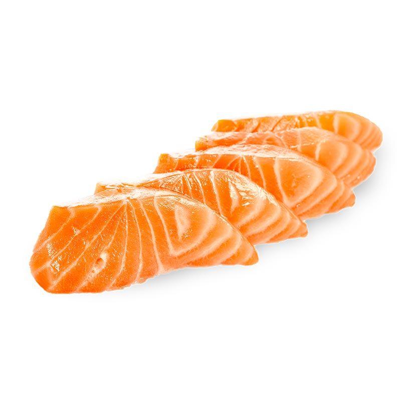 Sashimi Salmón Noruego (5 piezas)