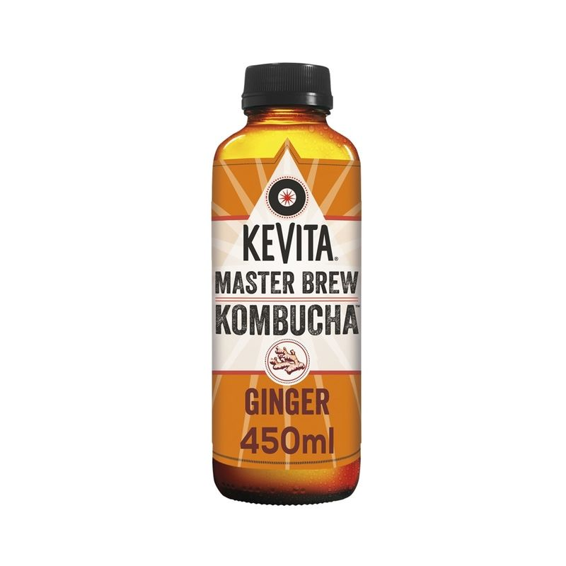 Kombucha Master Vrew Kevita de 450 Mililitros Ginger