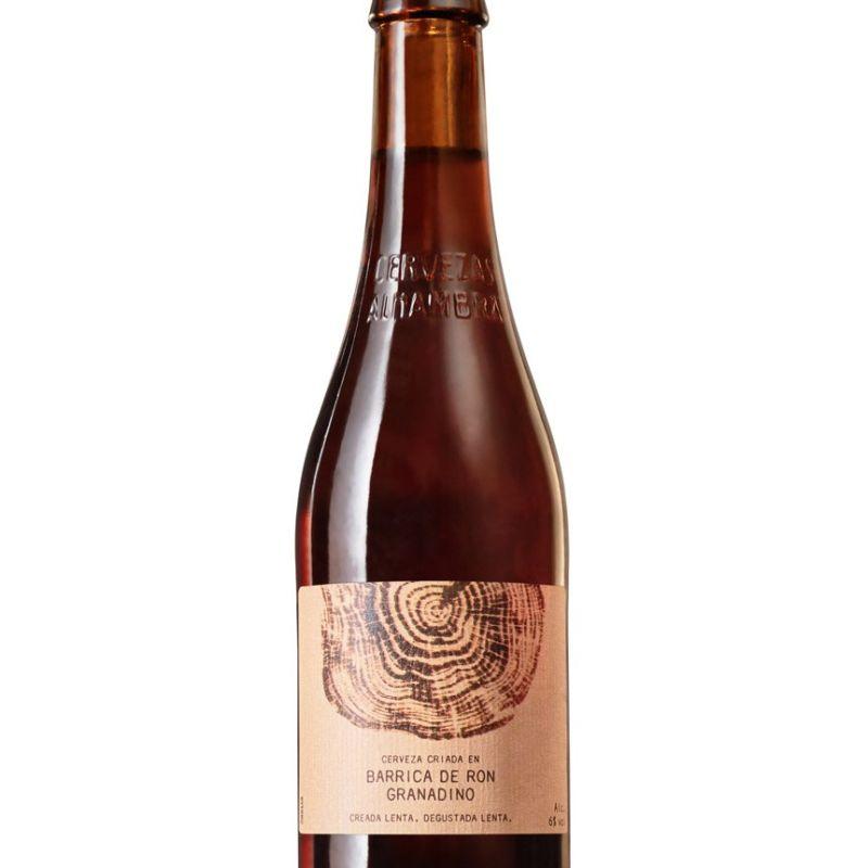 Cerveza Alhambra Barrica de Ron Granadino