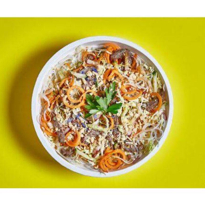 Ensalada Vietnamita con Veggie Pollo