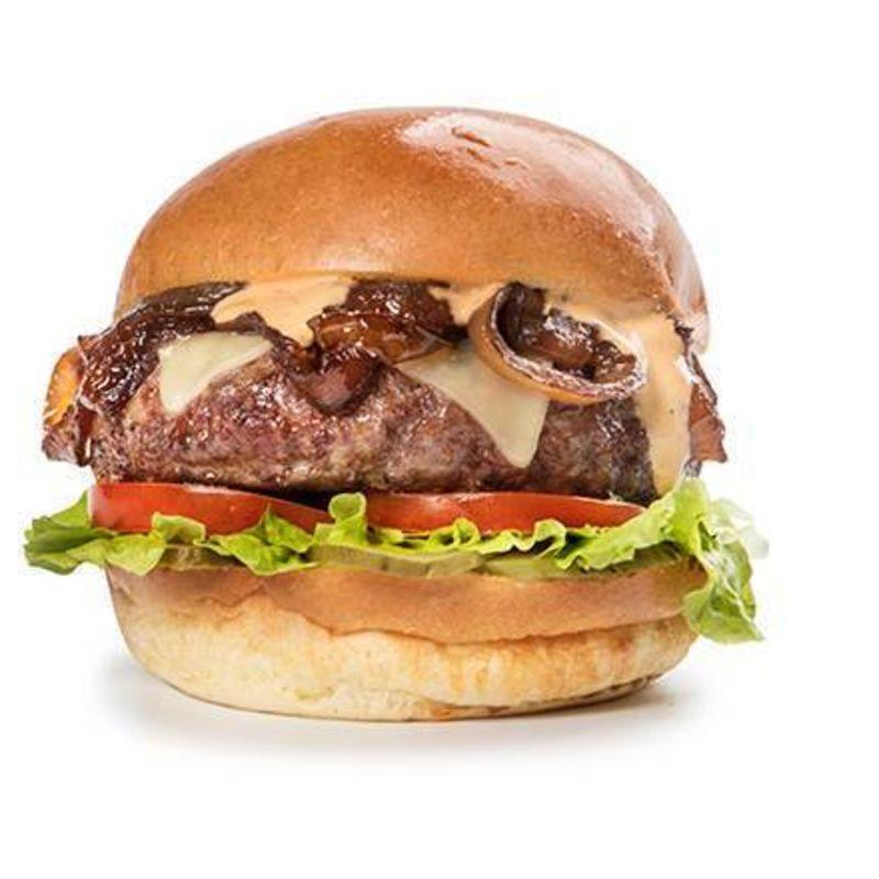Menu Original Miami Half Pound Burger