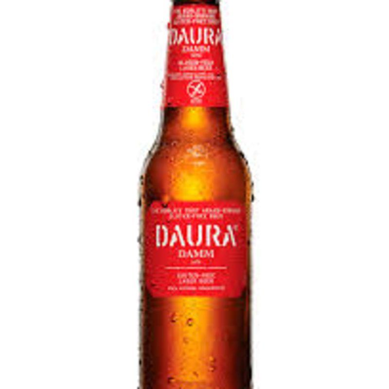 Cerveza Daura sin gluten Damm (33 cl.)