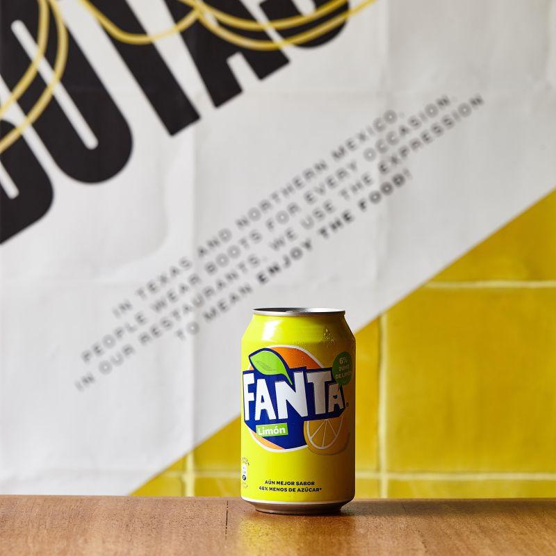 Fanta limón lata 330 ml