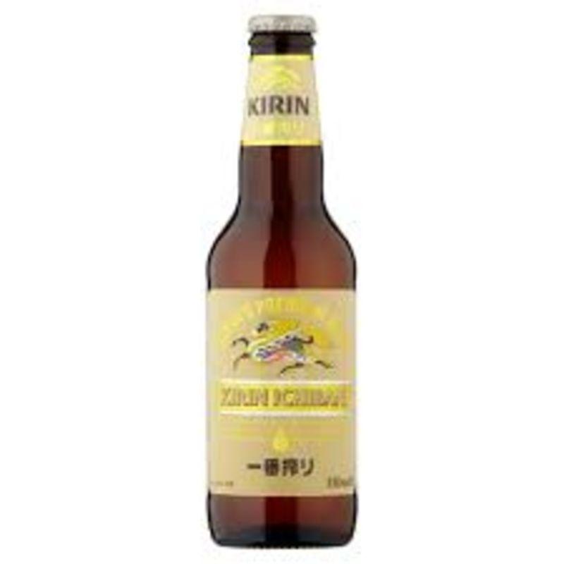 Cerveza Kirin Ichiban vidrio (33 cl.)