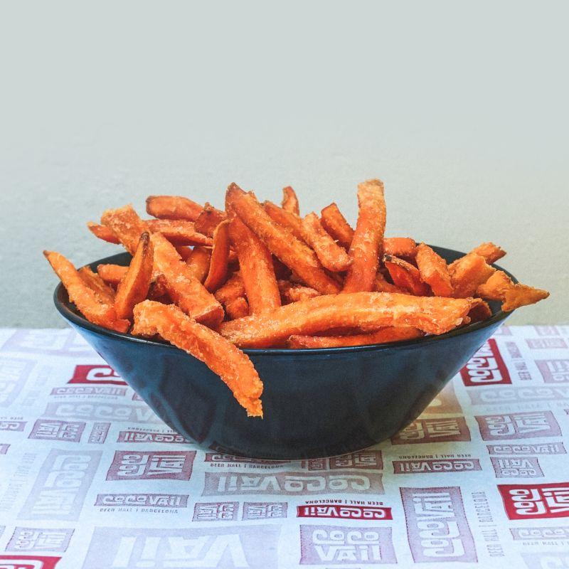 Patatas de boniato fritas