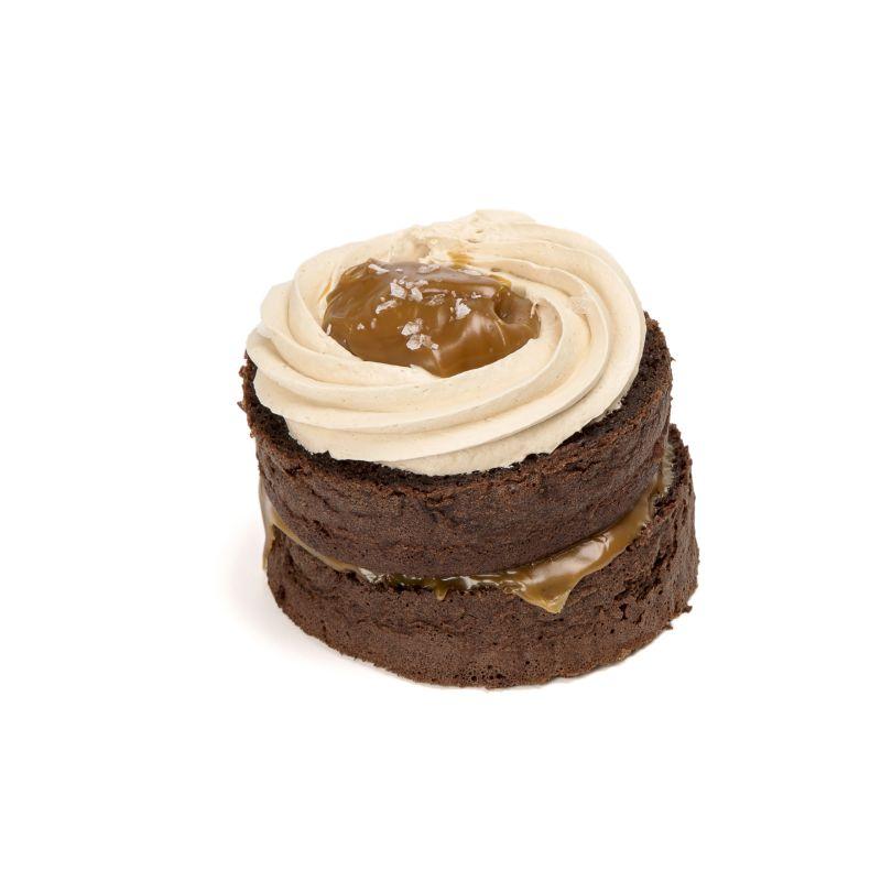 Mini Tarta Caramelo y Sal