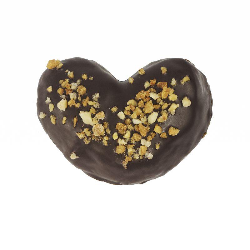 Palmerita de Chocolate con Avellanas