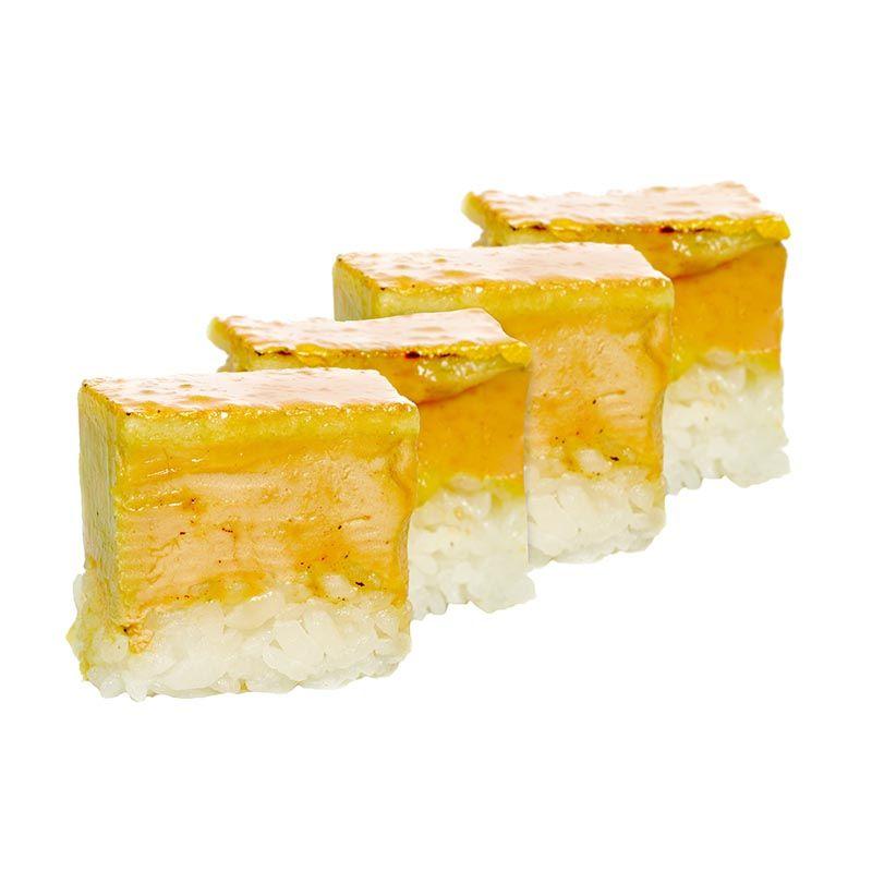 Nigiri Oshi Sushi (4 piezas)
