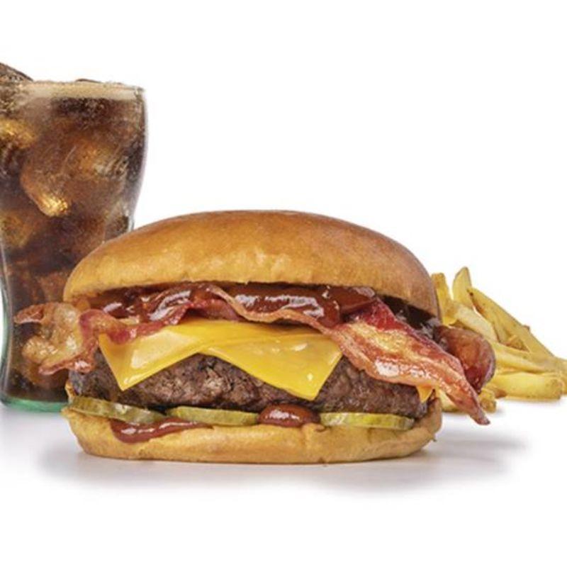 Menu New York Bacon & Cheese Burger
