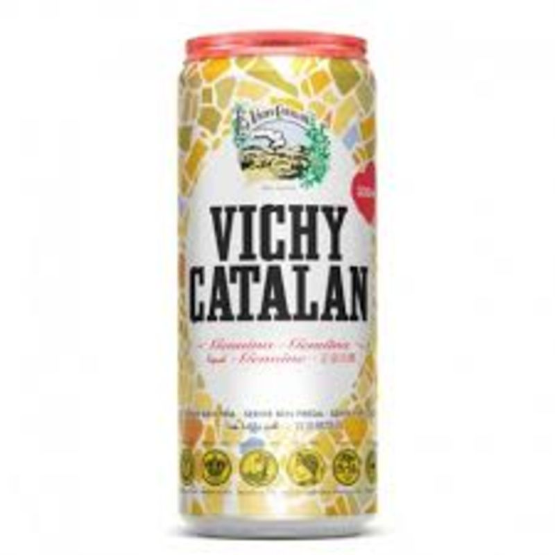 Agua con gas Vichy Catalán (33 cl.)