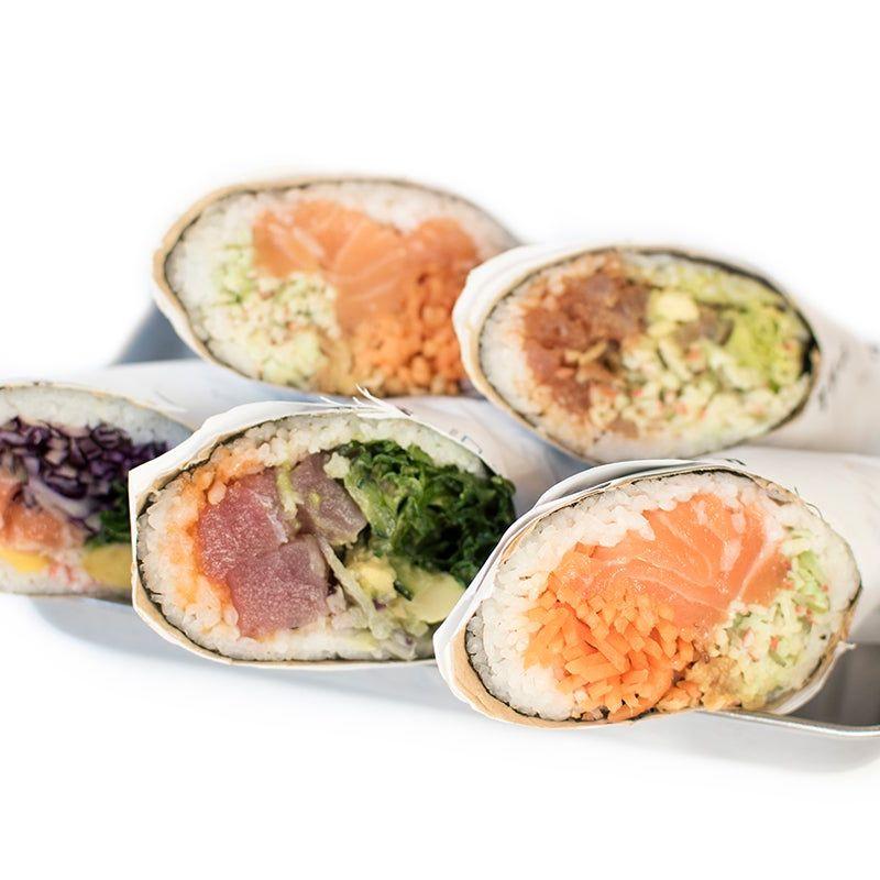 Crea tu Sushi Burrito