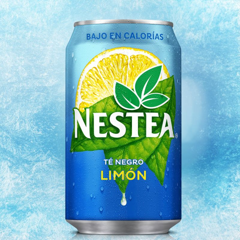 Nestea Té Negro Limón lata 330 ml.