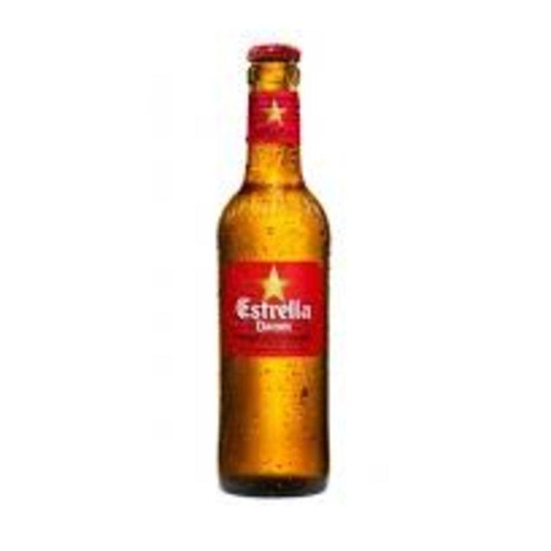 Cerveza Estrella Damm vidrio (33 cl.)