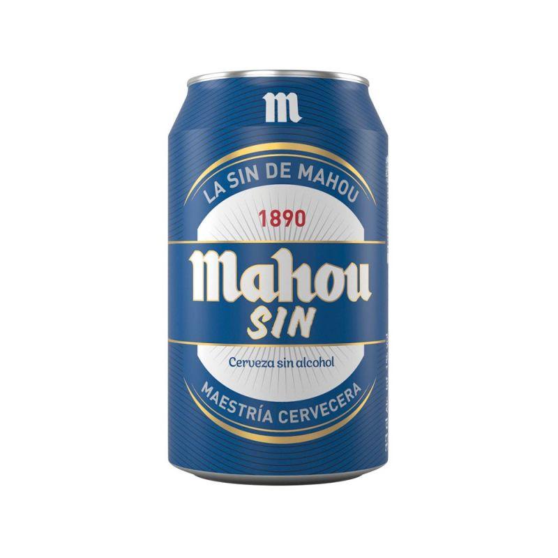 Cerveza Mahou sin Lata