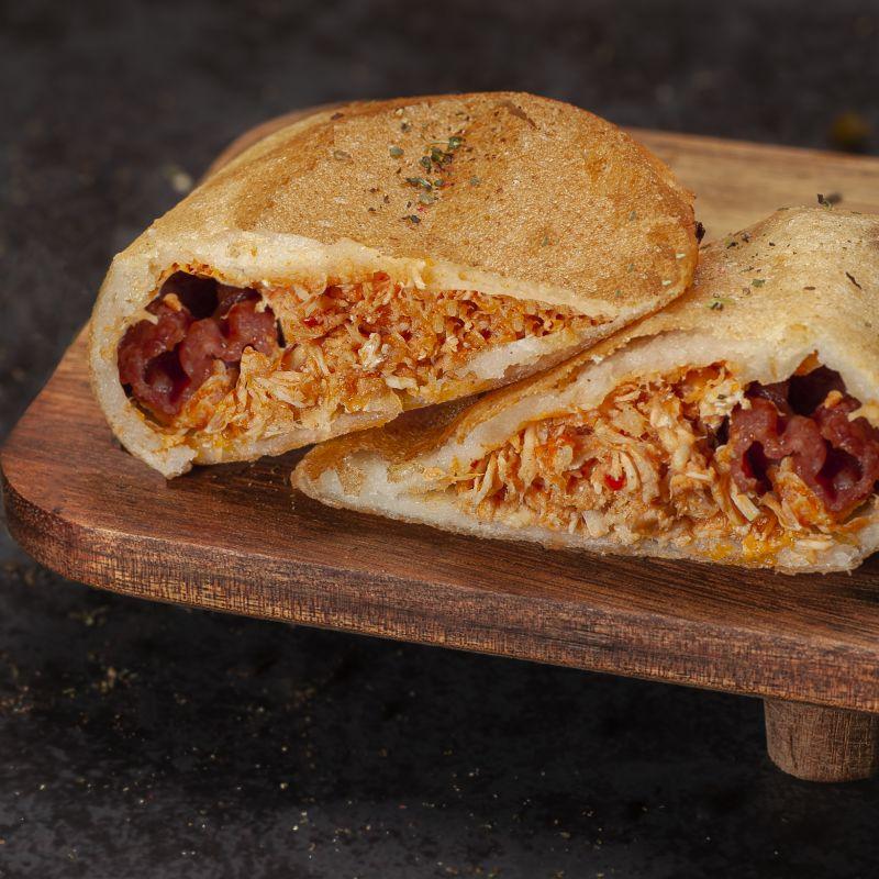 Empanada Bacon y Pollo