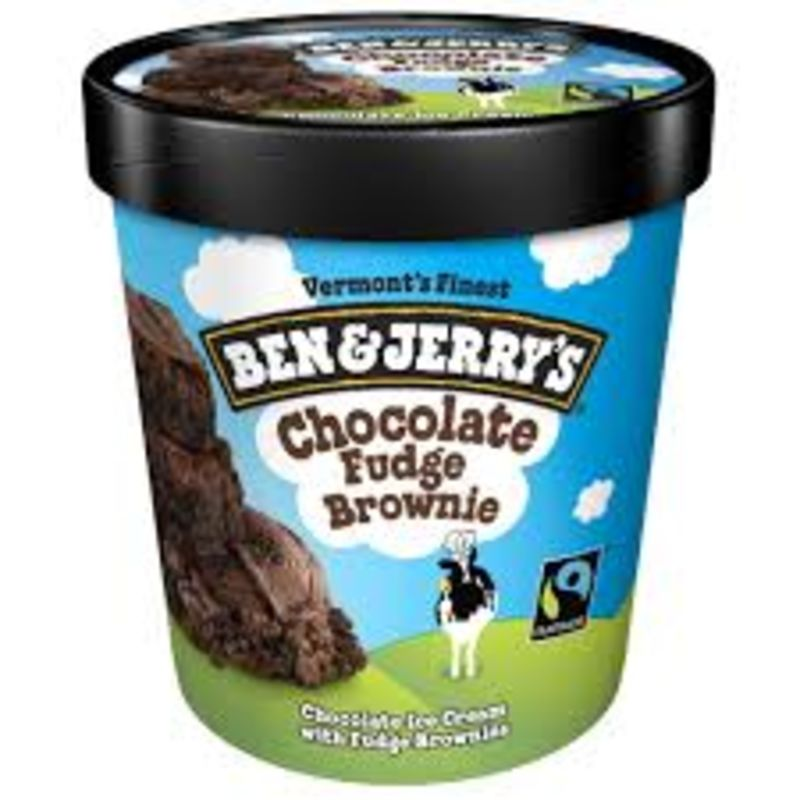 Helado Chocolate Fudge Brownie Ben & Jerry's