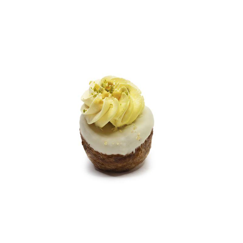 Mini Kronut de Mousse de Mango y Pistacho