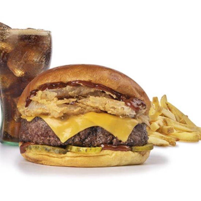 Menu Texas BBQ Burger