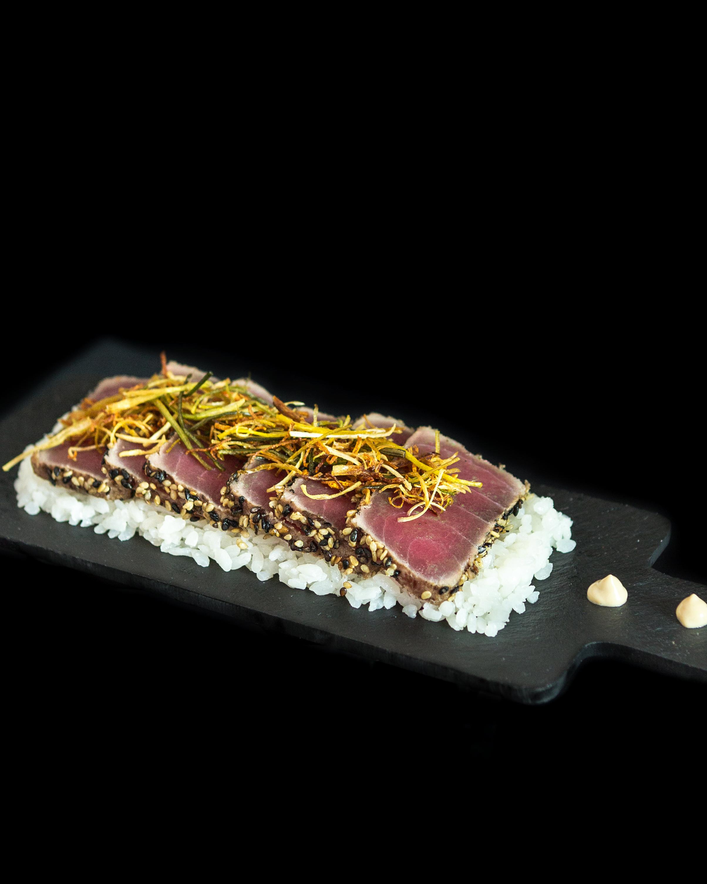 Tataki de atún (110 g.)