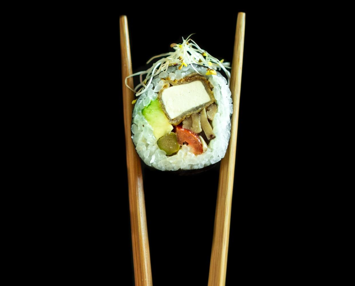 Sushiitake Roll (Veggie Style)