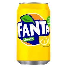 Fanta limón ( 33 cl. )