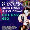 XV Congreso de zouk y samba en Galicia 2020